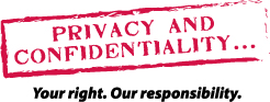 Privacy and confidentiality at Eastern Health.