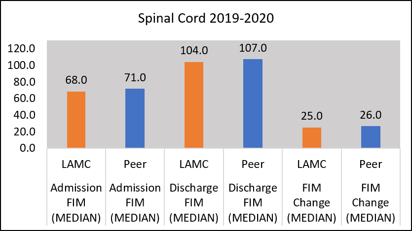 Chart functional independence measure for those with spinal cord dysfunction